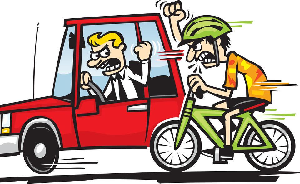 велосипедисты против водителей